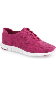 These perforated fuchsia training sneakers picked up from the NSale are going to be so perfect for casual weekends. They'll look cute with leggings, or a comfortable pair of distressed jeans.