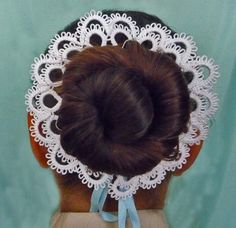 Etsy の Hair accessories for girls tatting lace for by ShopGift