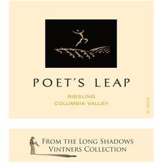 Long Shadows Poet's Leap Riesling Columbia Valley 2008 Long Shadow, Wine Tasting, Columbia, Peach, Wine Labels, Poet, Shadows, Washington, Lime
