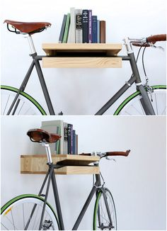 practical indoor bicycle storage for a small space