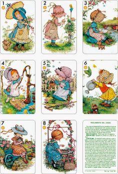 E' un po' sconcertante vedere come la mano degli artisti possa cambiare da un disegno all'altro. E' un argomento di cui abbiamo già trattat... Holly Hobbie, Vintage Cards, Vintage Images, Coloring Books, Coloring Pages, Decoupage Vintage, Cute Illustration, Vintage Children, Paper Dolls
