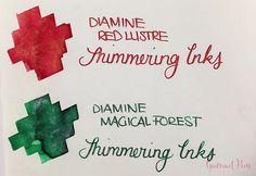 Ink Shot Preview Diamine Shimmer Inks (28)