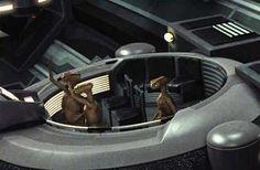 Pequeños intrusos en el Senado Imperial ;)