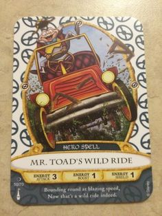 Sorcerers of the Magic Kingdom cards and map