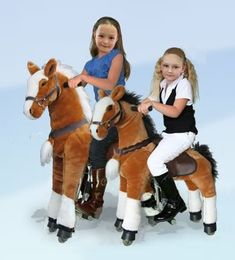 UFREE-HORSE profile,the moving ride on horse toy and the action pony toy.