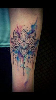 zen lotus tattoo