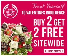 The Body Shop Offers Buy 2, Get 2 FREE!