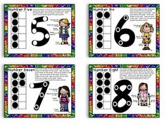 Touch Math Inspired Posters. Education to the Core: anchor charts