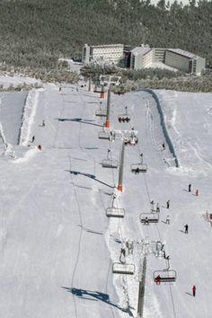 Estación de #esqui en #Manzaneda, #Ourense, #Galicia