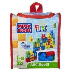 Mega Bloks First Builders ABC Spell!
