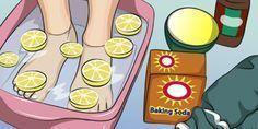 Este banho nos pés com limão vai relaxar, melhorar a circulação e desintoxicar todo o seu corpo!   Cura pela Natureza