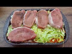 rețetă delicioasă și ușoară pentru carne cu legume, rapidă și sănătoasă # 334 - YouTube Pork, Easy Meals, Food And Drink, Vegetables, Healthy, Recipes, Glass, Interesting Recipes, Tasty Food Recipes