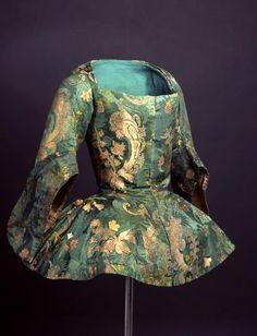 Casaca (Jacket), Spain, French silk, c. 1730 -1740