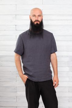 #linenmentshirt #linenmantshirt #linenboytshirt #linentshirt #menstshirt #flaxshirtsmen #flaxshirt #linenshirtsformen #softlinenshirts #shirtsmengift #linenmensclothes #linocolore Linen Trousers, Boys Shirts, Just For You, Pure Products, Mens Tops, T Shirt, Stuff To Buy, Fashion, Linen Pants