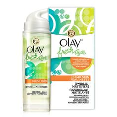 Olay Fresh Effects Clear Skin Swirled Mattifier Redness & Pore Reducing Mattifier