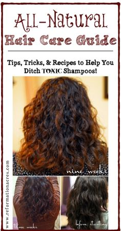 Lots of recipes and advice for gentle, natural hair care- This is so simple & look at the difference it made!! |www.reformationacres.com