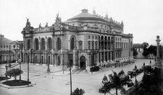 Teatro Municipal (c.1920) | Autor: Guilherme Gaensly