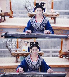 Lý Tâm Ngãi Chinese Clothing, Chinese Dresses, Princess Weiyoung, Luo Jin, Drama, Hanfu, Traditional Outfits, Captain Hat, The Past