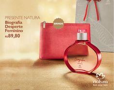 O Presente de Natal Biografia Despertar é composto de Fragrância  surpreendente e nécessaire em tamanho ideal f6509012cf5ff