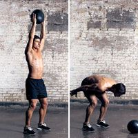 See BIG gains in strength, size, and speed with this 15-minute medicine ball workout.