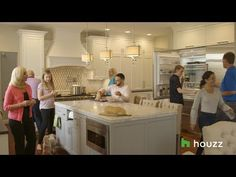 See How 2 Families Make Life Work Under 1 Roof Home Tv, Kitchen Organization, Organizing, Houzz, Kitchen Dining, Dining Room, Beautiful Homes, House Plans, Families