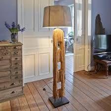 Bildergebnis für Holz Stehlampen