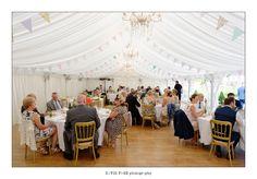 Stylish marquee bunting #marquee #bunting #style #weddingdeco #summer #summerwedding #weddingfrance