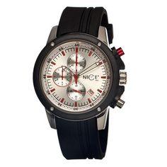 Men's Enzo Watch Steel now featured on Fab.
