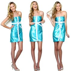 DIY Halloween Costume - Tiffany Box @Kathryn Whiteside Whiteside Whiteside Whiteside Maher We should have done this! Haha