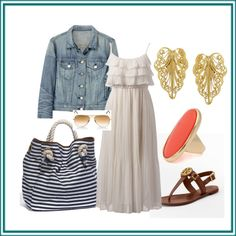 Cape Cod day, created by lkennedy448.polyvore.com