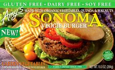 Yumm!! A wholesome veggie burger!