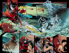SDCC 2011: Preview Art from September's #1 issues of BATMAN, CATWOMAN, NIGHTWING And More