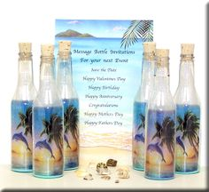 dolphin gifts | Message In A Bottle - Gifts - Invitations - Handcrafted Gift Ideas