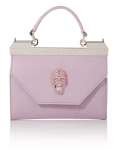 "PHILIPP PLEIN CLUTCH ""PURPLE"". #philippplein #bags #leather #clutch #polyester #lining #hand bags #"