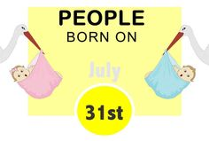 Numerological Personality Traits of People Born on July 31st