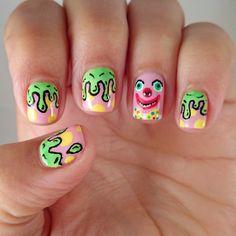 Mr Blobby Nails