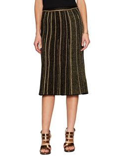 Knit Stripe Midi Skirt from Up to 80% Off: M Missoni on Gilt