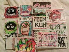 FREE10 graffiti stickers click the link.