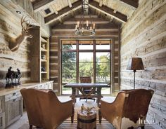 Country Reclaimed Wood Office