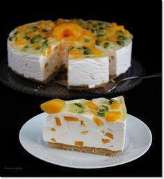 Feta, Breakfast Recipes, Cheesecake, Food And Drink, Sweets, Cookies, Foods, Deserts, Yogurt