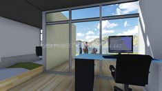 Case, Montana, Corner Desk, Modern, Furniture, Home Decor, Corner Table, Flathead Lake Montana, Trendy Tree