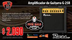 "La Púa San Miguel: Amplificador de Guitarra ROSS G-25R 25w 8"" Distors..."