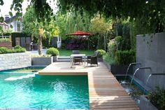 Pool für kleinen Garten praktisch und platzsparend gestalten | Pool ...