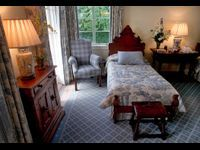 The JFK bedroom at the former Kennedy estate, November 23, 2001. (David Spencer/The Palm Beach Post)