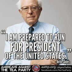 Even if he doesn't get elected, he will bring up loads of good issues in the primaries