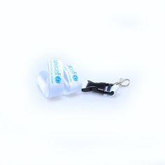 Promoschlüsselbänder Material: Polyester Breite: 20mm Druck: Siebdruck Verschlüsse: Standard Clip: Kunststoff Unicef
