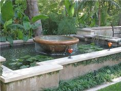 1000 images about water falls water fountains ponds for Small round pond