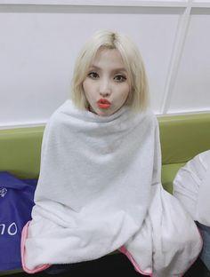 South Korean Girls, Korean Girl Groups, Fans Cafe, Yellow Hair, Kpop, Soyeon, My Princess, Girl Pictures, Cute Girls