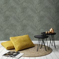 Superfresco Easy Grey Strippable Non-Woven Paper Unpasted Textured Wallpaper Living Room Decor Ikea, Interior Design Living Room, Bedroom Decor, Loft Interior Design, Restaurant Interior Design, Doutzen Kroes, Interior Design Presentation, My New Room, Home And Living