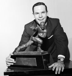 John Huarte ~ 1964 Heisman Trophy Winner